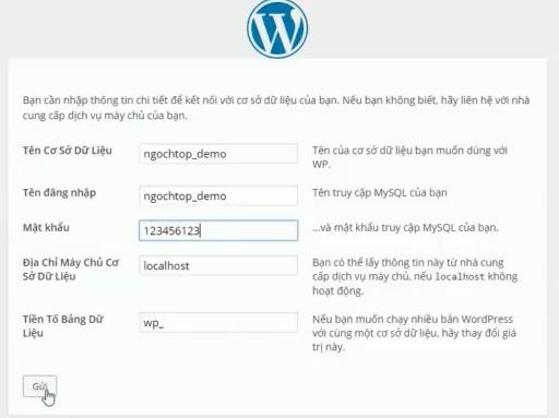 Cách cài đặt wordpress lên hosting
