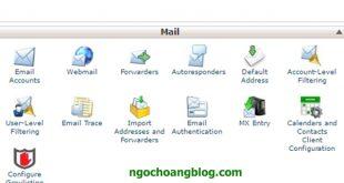 Hướng dẩn tạo email theo tên miền