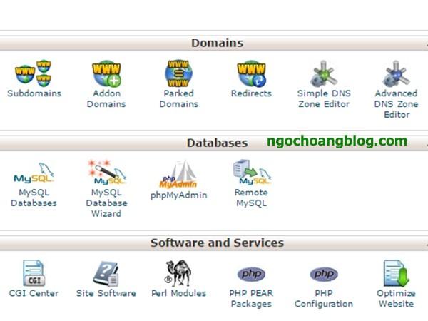 Tạo subdomain trong hosting